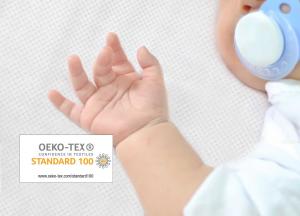 Babysanity® Caldo Piumino Lettino Neonato Completo di Paracolpi Lettino, Federa e Copripiumino Sfoderabile Per l'uso Estivo 100% Cotone -Made in Italy- (Cuore Beige) related image