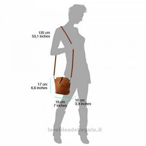 Borsa Testa di Moro a Tracolla in pelle - Clara - Pelletteria fiorentina