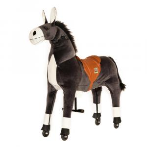 Cavallo Cavalcabile con ruote Asino Dundy