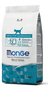 Monge Cat - Natural Superpremium - Kitten - 10 kg