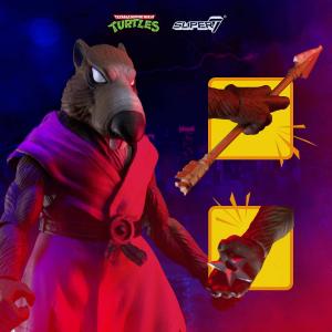 Teenage Mutant Ninja Turtles: Ultimates Action Figure SPLINTER by Super 7