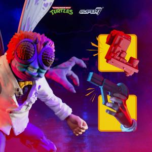 Teenage Mutant Ninja Turtles: Ultimates Action Figure BAXTER STOCKMAN by Super 7