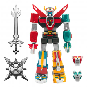 *PREORDER* Ultimates Action Figure: VOLTRON Chrome ver. by Super 7