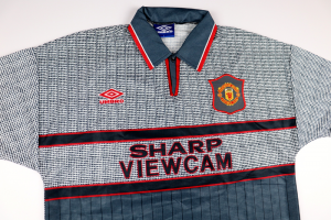 1995-96 MANCHESTER UNITED MAGLIA AWAY L (Top)