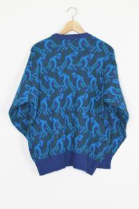 Maglia lana fantasia