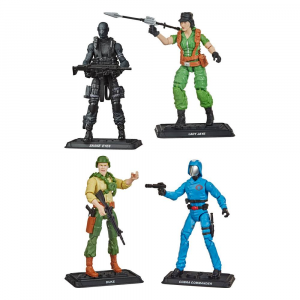 *PREORDER* G.I. Joe Retro Collection Action Figure: SERIE 1 COMPLETA - WAVE 1 2021 by Hasbro