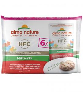 Almo Nature - HFC Cat - Megapack - 3 x 6 buste 55gr