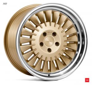 Cerchi in lega  Ispiri  CSR1D  18''  Width 8,5   5x100  ET 35  CB 57.1    Vintage Gold Polished Lip