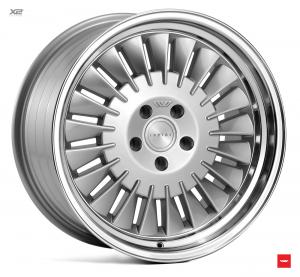 Cerchi in lega  Ispiri  CSR1D  19''  Width 8,5   5x120  ET 35  CB 72.56    Silver Polished Lip