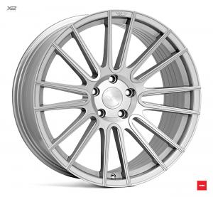 Cerchi in lega  Ispiri  FFR8  20''  Width 10   5x120  ET 42  CB 72.56    Pure Silver Brushed
