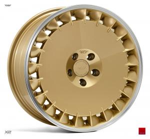 Cerchi in lega  Ispiri  CSRD-TF  18''  Width 8,5   5x112  ET 42  CB 66.56    Vintage Gold Polished Lip