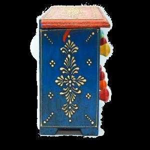 Porta Spezie India Orizzontale - 8 cassetti