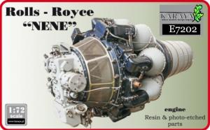 RR Nene British jet engine