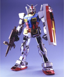 *PREORDER* Model Kit Gundam: PG GUNDAM RX-78-2 CHROME PLATED 1/60 by Bandai