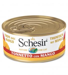 Schesir Cat - Fruit - 75g x 24 lattine
