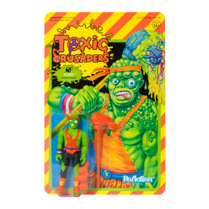 Toxic Crusaders ReAction figures - serie 1 TOXIE by Super 7