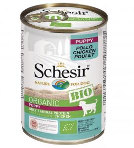 Schesir Dog - Bio - Puppy - Pollo - 400g x 6 lattine