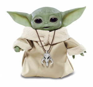 Star Wars The Mandalorian: Electronic Figure BABY YODA The Child Animatronic Edition by Hasbro