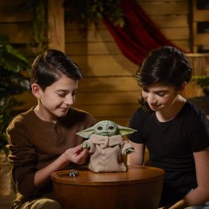 Star Wars The Mandalorian: Electronic Figure BABY YODA The Child Animatronic Edition by Hasbro