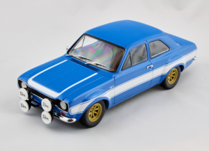 Ford Escort I Rs 1600 Fav 1970 Blue With White Stripes 1/18