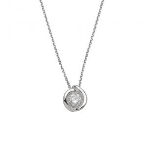 Collana Donna Oro 18kt ct.0,20 Prestige - Main view - small