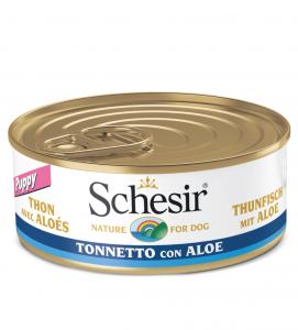 Schesir Dog - Gelatina - Puppy - 150g x 18 lattine