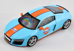 Audi R8 Gulf 1/18 Kyosho