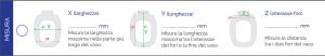 SEDILE WC PER IDEAL STANDARD  VASO TESI Bianco IS (grigio chiaro)