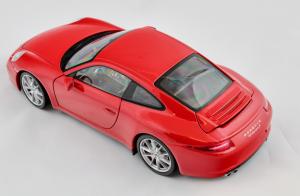Porsche 911 Carrera S 2011 Red 1/18 Minichamps