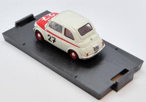 Fiat Nuova 500 Sport 12h Hockenheim 1958 1/43 100% Made In Italy By Brumm