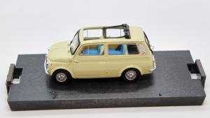 Fiat 500 Giardiniera Open Avorio 1960 1/43 100% Made In Italy By Brumm