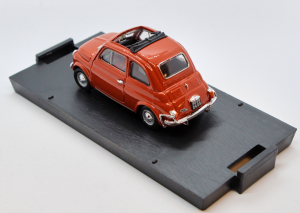 Fiat 500L Aperta 1968-1972 Rosso Corallo 1/43 100% Made In Italy By Brumm