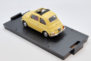 Fiat 500L Open 1968-1972 Thaiti Yellow 1/43 100% Made In Italy By Brumm