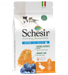 Schesir Cat - Natural Selection - Kitten - Anatra - 350g