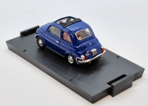 Fiat 500L Open 1968-1972 Orient Blue 1/43 100% Made In Italy By Brumm
