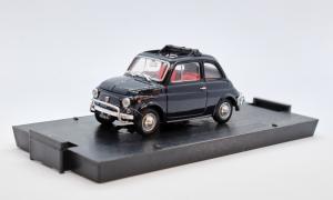 Fiat 500L Aperta 1968-1972 Blu Scuro 1/43 100% Made In Italy By Brumm