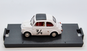 Fiat 595 Abarth Monza 1964 #34 1/43 100% Made In Italy By Brumm