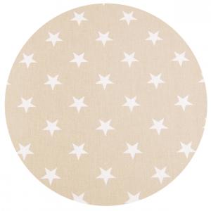 Babysanity® Cuscino Allattamento con 2 Federe Di Qualità' Per Un Allattamento Confortevole Del Neonato Cotone 100% - Made In Italy - (Stella e Righe Beige) related image