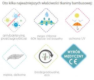 Telo multiuso - mussola in bamboo 100 % - 120x120 - Farfalle - Multicolore