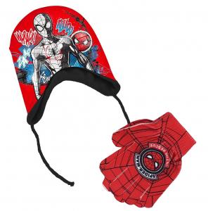 Cappello Peruviano e guanti Spiderman da 3 A 6 Anni