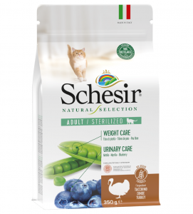 Schesir Cat - Natural Selection - No Grain - Sterilizzato - Tacchino - 350g