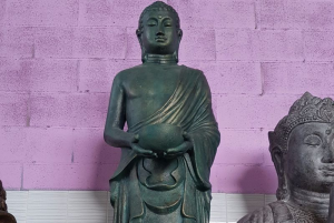 Statua Buddha Monaco H cm 170 in resina