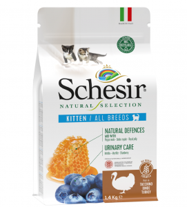 Schesir Cat - Natural Selection - No Grain -  Kitten - Tacchino - 1,4 kg