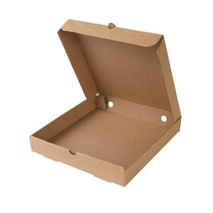 Scatola per pizza in cartoncino kraft