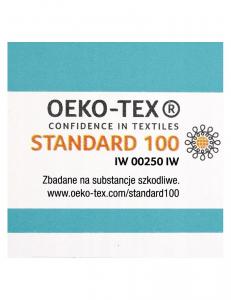 Telo multiuso - mussola in bamboo 100 % - 120x120 - Pois - Multicolor