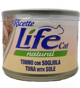 Life Cat - Natural - Le ricette - 150g x 24 lattine