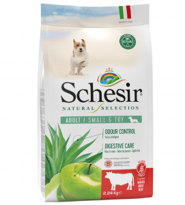 Schesir Dog - Natural Selection - No Grain - Adult - Toy/Small - 2,24 kg
