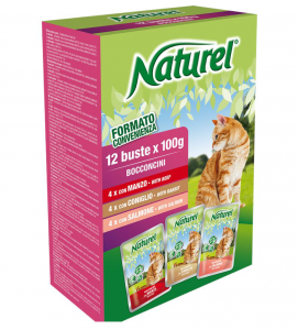 Life Pet Care - Naturel - 3 Box da 12 buste da 100g