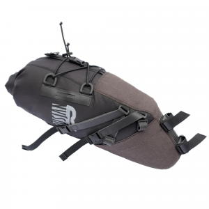 Borsa sottosella waterproof 100% per bikepacking da 8 litri