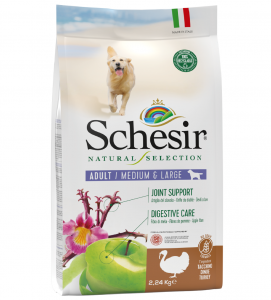 Schesir Dog - Natural Selection - No Grain - Adult - Medium/Large - 2,24 kg